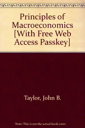 Principles of Macroeconomics 5th 2007 9780618785926 Front Cover