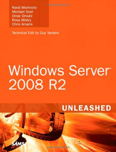 Windows Server 2008 R2 Unleashed   2010 edition cover