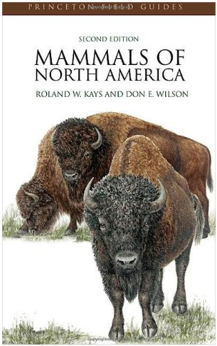 Mammals of North America  2nd 2010 (Revised) edition cover