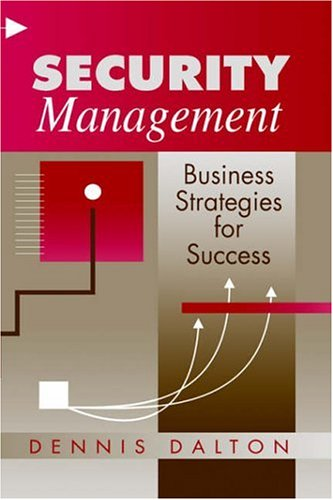 Security Management Business Strategies for Success  1994 9780750694926 Front Cover