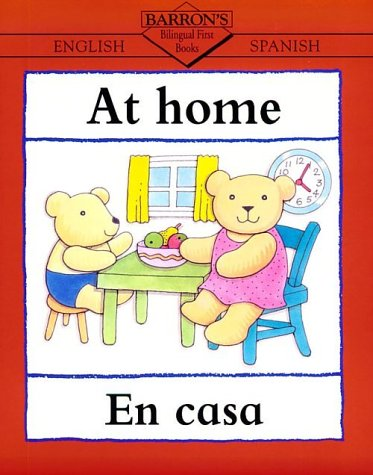 At Home A la Casa  2001 9780764116926 Front Cover