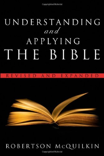 Understanding and Applying the Bible   2009 (Revised) edition cover