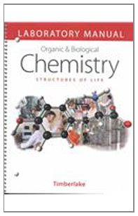Laboratory Manual for Organic and Biological Chemistry   2002 edition cover
