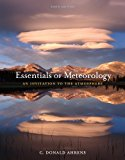 Bundle: Essentials of Meteorology: an Invitation to the Atmosphere, 6th + Cengage Learning EBook Printed Access Card  6th 9781111999926 Front Cover