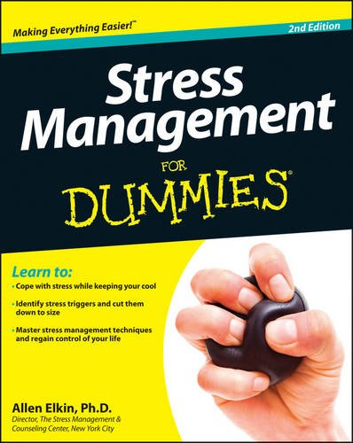 Stress Management for Dummies  2nd 2013 9781118523926 Front Cover