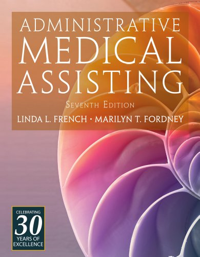 Administrative Medical Assisting  7th 2013 edition cover