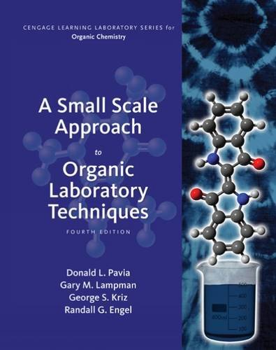 A Small Scale Approach to Organic Laboratory Techniques:   2015 edition cover