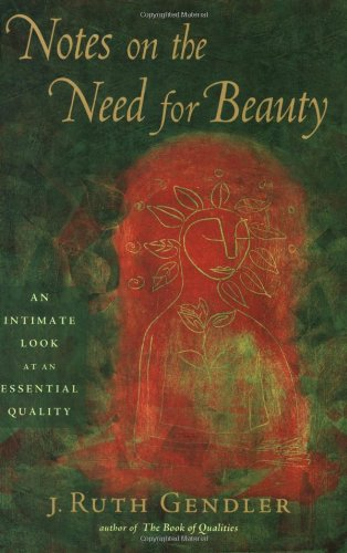 Notes on the Need for Beauty An Intimate Look at an Essential Quality  2007 edition cover