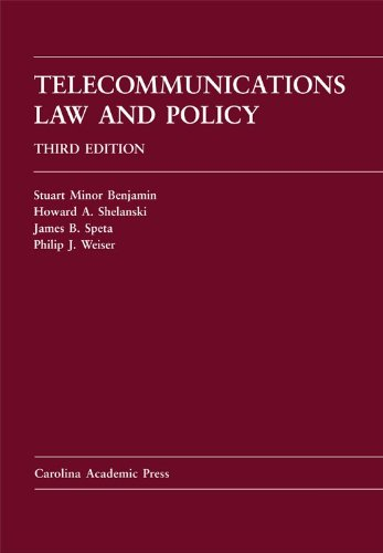 Telecommunications Law and Policy  3rd 2011 edition cover