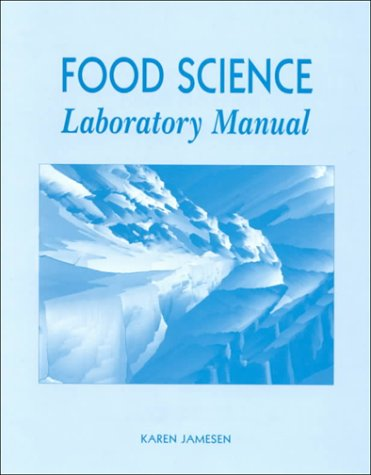 Food Science Laboratory Manual   1998 (Lab Manual) edition cover