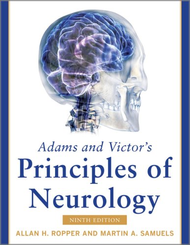 Adams and Victor's Principles of Neurology  9th 2009 edition cover