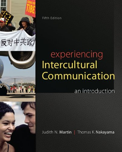 Experiencing Intercultural Communication An Introduction 5th 2014 edition cover