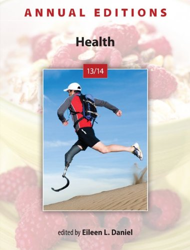 Annual Editions: Health 13/14  34th 2013 9780078135927 Front Cover