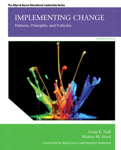 Implementing Change Patterns, Principles, and Potholes 4th 2015 edition cover