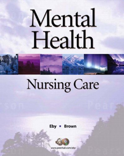 Mental Health Nursing Care  2nd 2009 edition cover