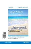 Interpersonal Messages, Books a la Carte Edition  3rd 2014 edition cover