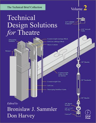 Technical Design Solutions for Theatre   2002 edition cover