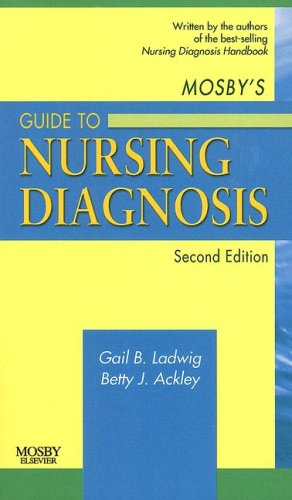 Mosby's Guide to Nursing Diagnosis  2nd 2008 edition cover