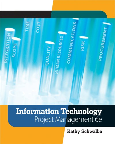 Information Technology Project Management  6th 2010 edition cover