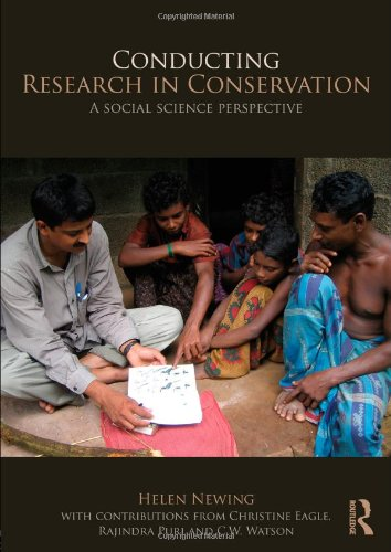 Conducting Research in Conservation A Social Science Perspective  2010 edition cover