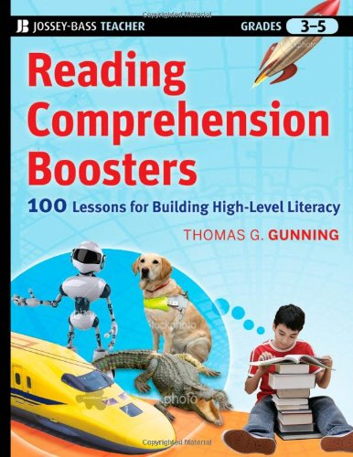 Reading Comprehension Boosters 100 Lessons for Building Higher-Level Literacy, Grades 3-5  2010 edition cover