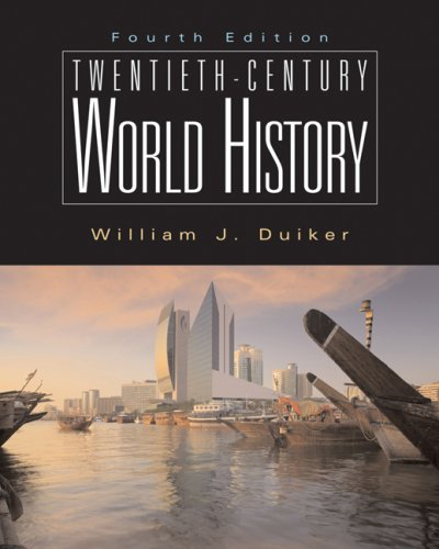 Twentieth Century World History  4th 2007 (Revised) edition cover