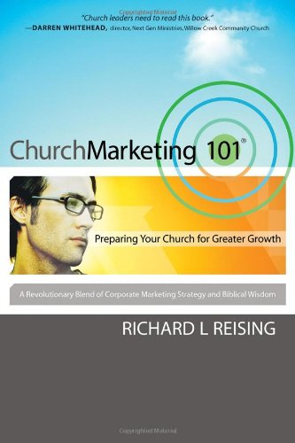 Church Marketing 101 Preparing Your Church for Greater Growth  2006 edition cover