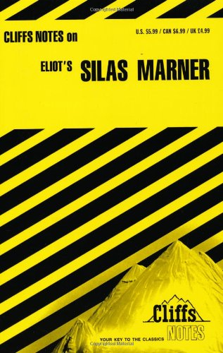 CliffsNotes on Eliot's Silas Marner   1966 edition cover