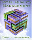 Total Quality Management  1st 1997 edition cover