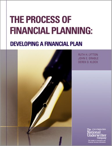 Process of Financial Planning Developing a Financial Plan N/A edition cover