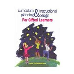 Curriculum Planning and Instructional Design for Gifted Learners   2003 9780891082927 Front Cover
