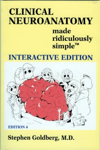 Clinical Neuroanatomy Made Ridiculously Simple  4th 2010 edition cover