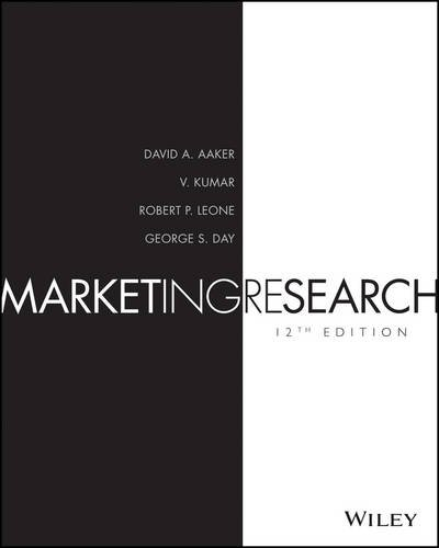 Marketing Research:   2015 9781118977927 Front Cover