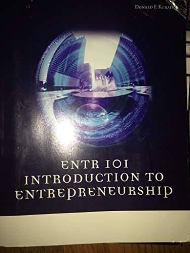INTRO.TO ENTREPRENEURSHIP >CUSTOM<      N/A 9781285565927 Front Cover