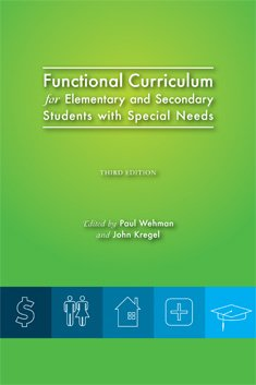 Functional Curriculum for Elementary and Secondary Students With Special Needs:  3rd 2012 edition cover
