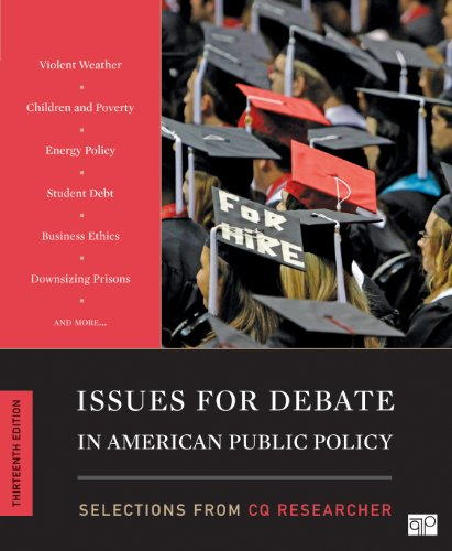 Issues for Debate in American Public Policy 13th Edition  13th 2013 (Revised) edition cover