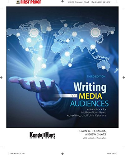 Writing for Media Audiences A Handbook for Multi-Platform News Advertising and Public Relations Revised edition cover