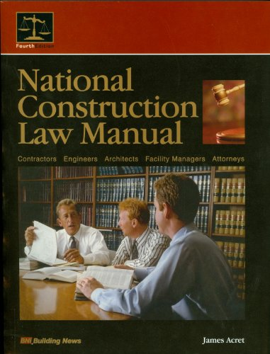 National Construction Law Manual 1st edition cover