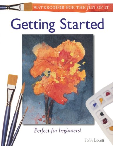 Watercolor for the Fun of It Getting Started  2002 edition cover