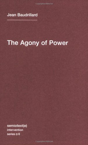 Agony of Power   2010 edition cover