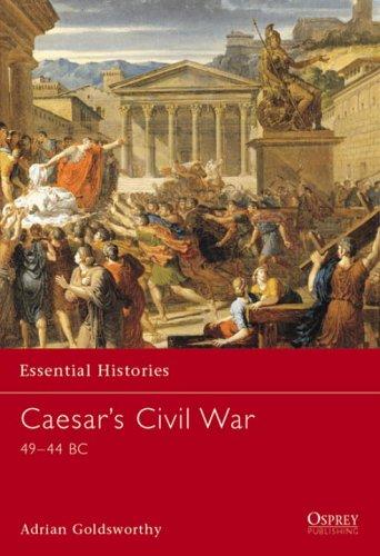 Caesar's Civil War 49-44 BC  2002 edition cover