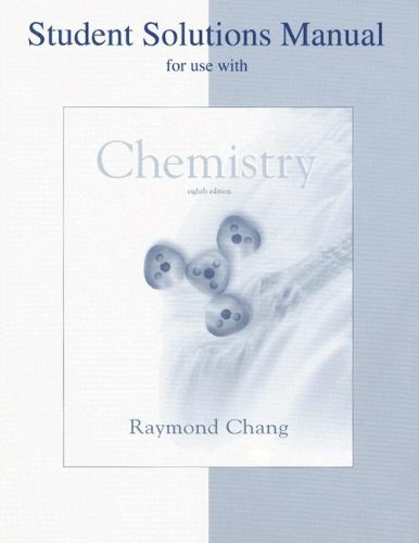 Chemistry  8th 2005 (Revised) edition cover