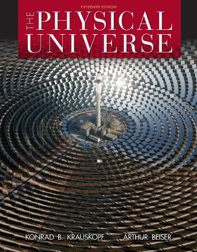 Physical Universe  15th 2014 9780073513928 Front Cover