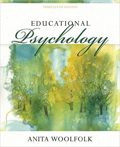 Educational Psychology + Myeducationlab With Enhanced Pearson Etext Access Card:  13th 2015 edition cover