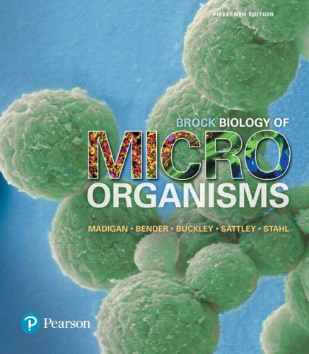 Cover art for Brock Biology of Microorganisms, 15th Edition