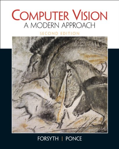 Computer Vision A Modern Approach 2nd 2012 (Revised) edition cover