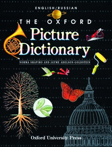 Oxford Picture Dictionary   1998 9780194351928 Front Cover