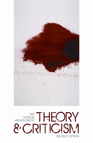 Norton Anthology of Theory and Criticism  2nd 2010 edition cover
