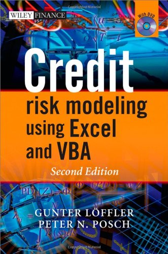 Credit Risk Modeling Using Excel and VBA  2nd 2011 edition cover