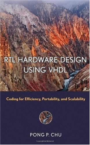 RTL Hardware Design Using VHDL Coding for Efficiency, Portability, and Scalability  2006 edition cover